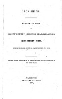 Iron Ships  Specification of Olcott s newly invented Self Ballasting Iron Safety Ships PDF