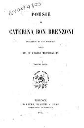 Poesie di Caterina Bon Brenzoni