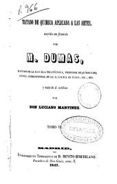 Tratado de química aplicada a las artes: Volumen 6