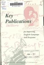 Key Publications for Improving English language Arts Programs PDF