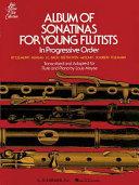 Album of sonatinas for young flutists in progressive order