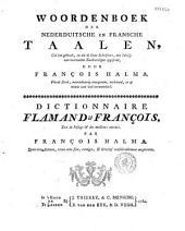 Le grand dictionnaire françois-flamand et flamand-françois tiré de l'usage et des meilleurs auteurs