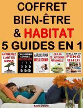 Coffret Bien-être & Habitat : 4 ebooks en 1