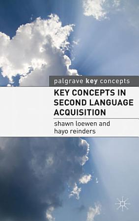 Key Concepts in Second Language Acquisition PDF