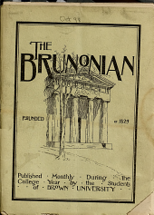 The Brunonian: Volume 33, Issues 1-3