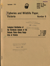 Fisheries and Wildlife Paper  Victoria PDF