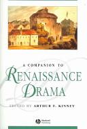A Companion to Renaissance Drama PDF