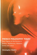 French Philosophy Today