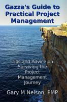 Gazza s Guide to Practical Project Management PDF