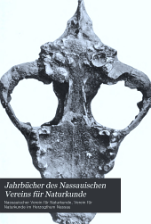Jahrbücher des Nassauischen Vereins für Naturkunde: Bände 58-60