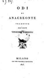 Odi, tradotte da Vincenzo Carissoli