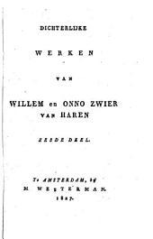 Dichterlijke werken van Willem en Onno Zwier van Haren: Volume 6
