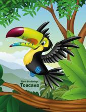 Livre de coloriage Toucans 1