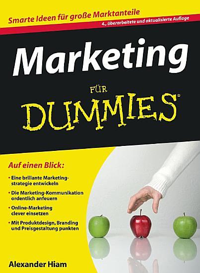 Marketing f  r Dummies PDF