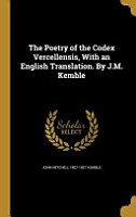 POETRY OF THE CODEX VERCELLENS PDF