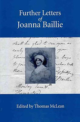 Further Letters of Joanna Baillie PDF