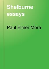 Shelburne Essays: Seventh Series