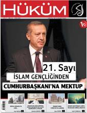 İslam Gençliğinden Cumhurbaşkanı'na Mektup : Hüküm Dergisi: 21. Sayı | Eylül 2014 | Yıl: 2