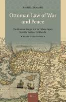 Ottoman Law of War and Peace PDF