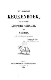 Het spaerzame keukenboek
