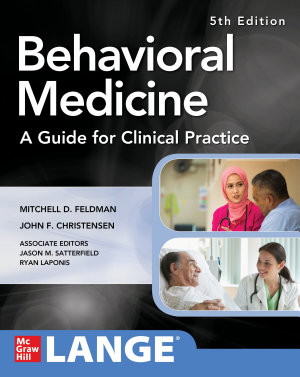 Behavioral Medicine A Guide for Clinical Practice 5th Edition