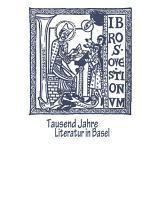 Tausend Jahre Literatur in Basel PDF