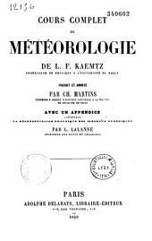 Cours complet de météorologie
