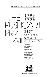 The Pushcart Prize XVIII PDF