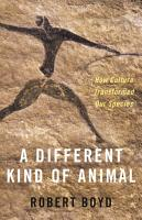 A Different Kind of Animal PDF