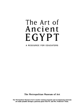 Art of Ancient Egypt PDF