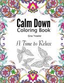 Calm Down Coloring Book