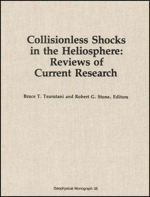 Collisionless Shocks in the Heliosphere PDF