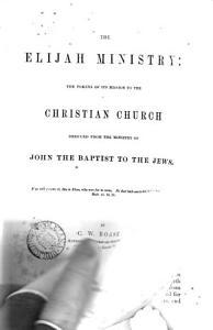 The Elijah Ministry PDF