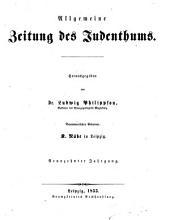 Allgemeine Zeitung des Judenthums: Band 19