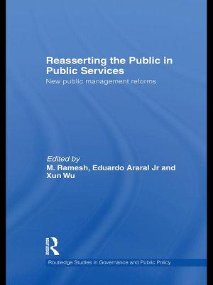 Reasserting the Public in Public Services PDF