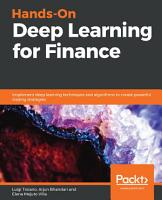 Hands On Deep Learning for Finance PDF