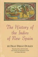The History of the Indies of New Spain PDF