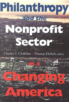 Philanthropy and the Nonprofit Sector in a Changing America PDF