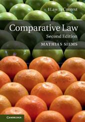 Comparative Law: Edition 2