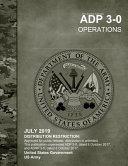 Army Doctrine Publication ADP 3 0 Operations July 2019 PDF