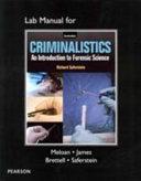 Lab Manual for Criminalistics PDF