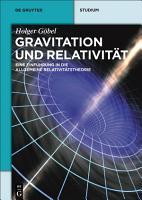 Gravitation und Relativit  t PDF