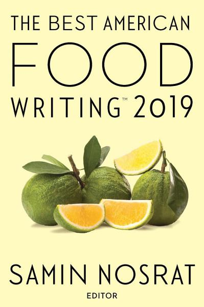 Download The Best American Food Writing 2019 Book