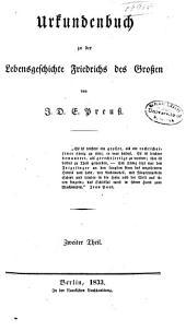 Friedrich der Grosse: Eine Lebensgeschichte, Band 2,Teil 2
