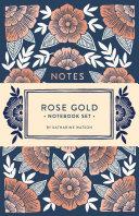 Rose Gold Notebook Set Book PDF