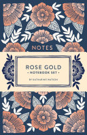 Rose Gold Notebook Set Book