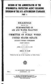 Hearings  Reports and Prints of the Senate Committee on Public Works PDF