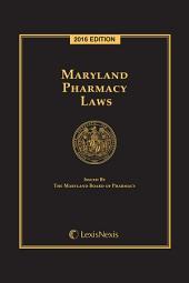 Maryland Pharmacy Laws