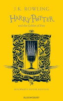 Harry Potter and the Goblet of Fire   Hufflepuff Edition Book