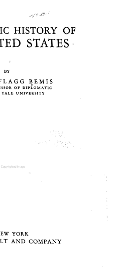 A Diplomatic History of the United States PDF
